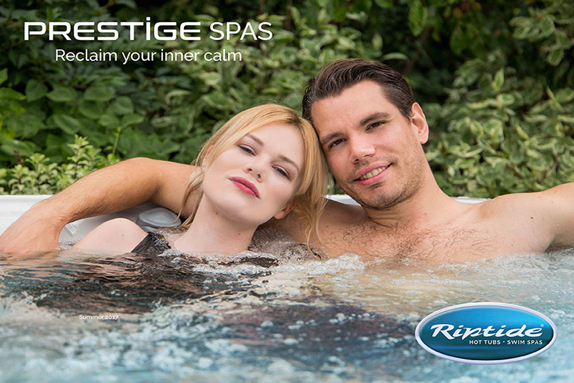 prestige hot tubs & spas brochure