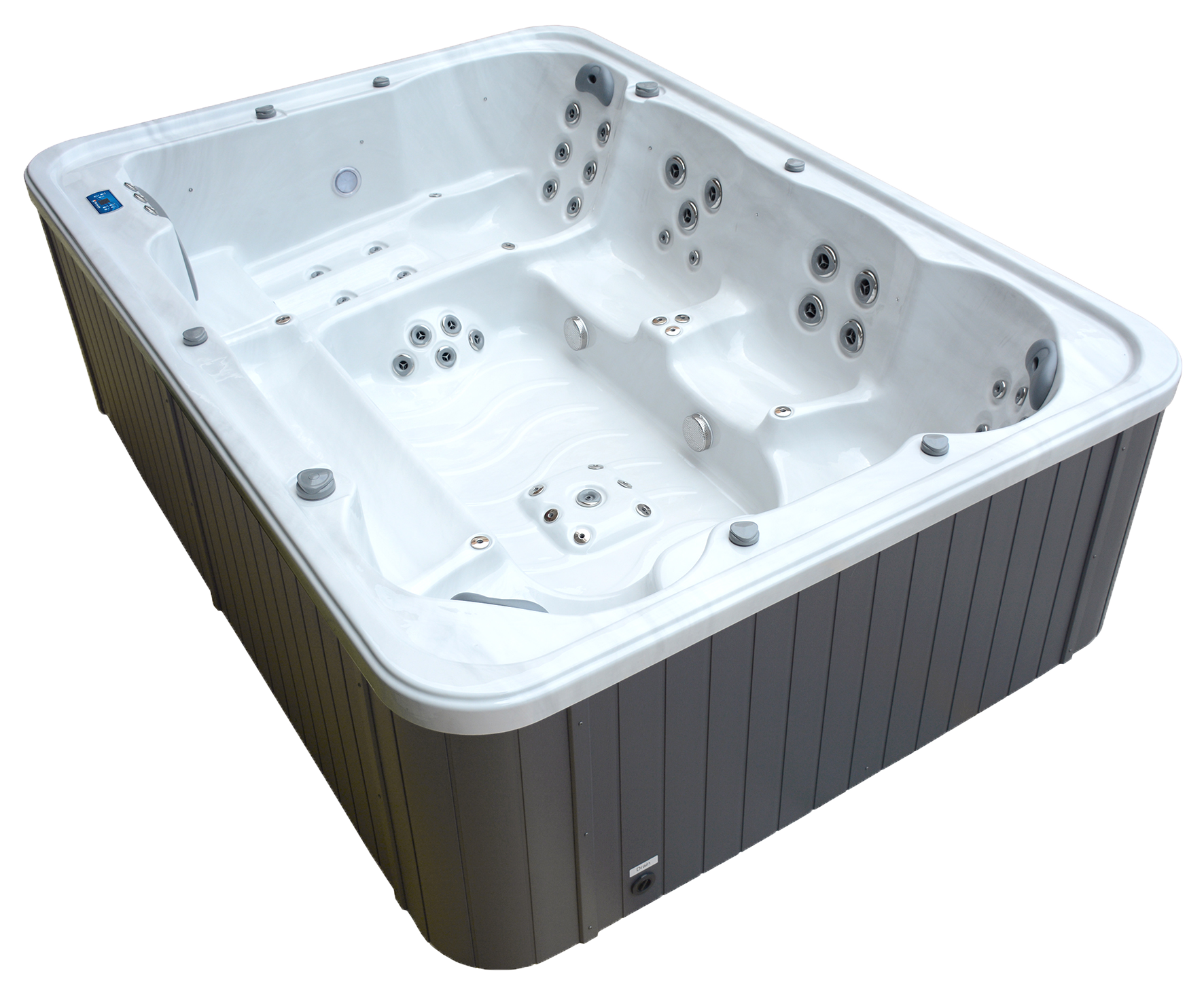 acclaim hot tub sideview