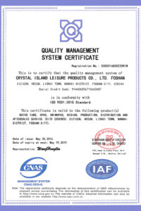 ISO Management System Certificiate