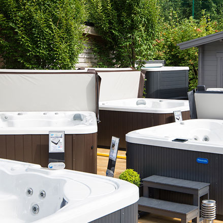 Where to buy Riptide Hot Tubs & Spas